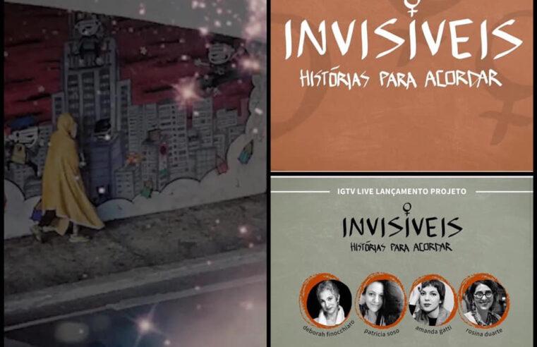 "Vozes femininas compõe espetáculo ""Invisíveis"""